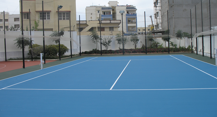 pisos deportivos para exteriores sistema de poliuretano
