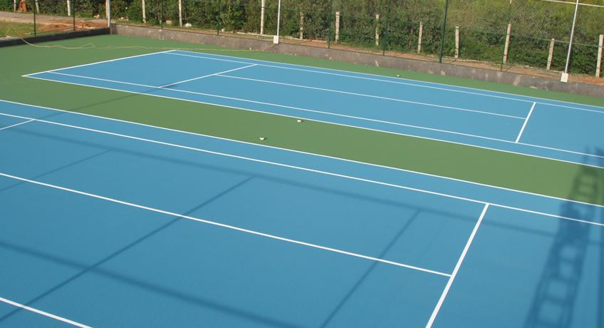 pisos deportivos para exteriores sistema de resina